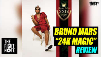 Danielle McGrane reviews Bruno Mars' '24K Magic'