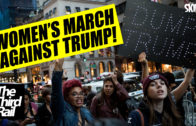 Trump: Inauguration v's The Women's March