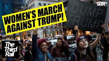 Trump: Inauguration v's The Women's March