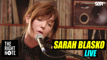 Sarah Blasko Live on The Right Note