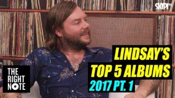 Lindsay McDougall's Top 5 Albums 2017 Pt.1