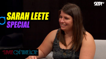 Sarah Leete performs live and talks working with Catherine Britt