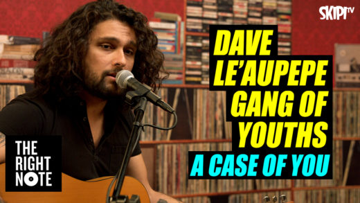 Dave Le'Aupepe Covers Joni Mitchell's 'A Case Of You'