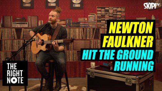 "Newton Faulkner ""Hit The Ground Running"" Live"