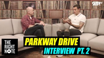 """It Was Written In Trauma."" Parkway Drive On New Album 'Reverence'-Pt 2"