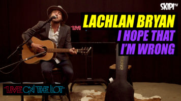 """Lachlan Bryan """"I Hope That I'm Wrong"""""""
