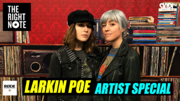 """Larkin Poe: """"Our Job Is To Put A Fresh Spin On Things"""""""