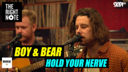 Boy & Bear 'Hold Your Nerve' Live