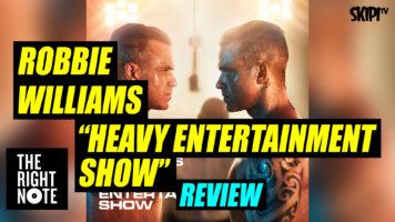 Bernard Zuel reviews Robbie Williams' album 'Heavy Entertainment Show'