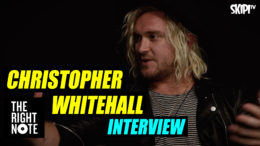 Rod Yates shoots the breeze with Christopher Whitehall from The Griswolds