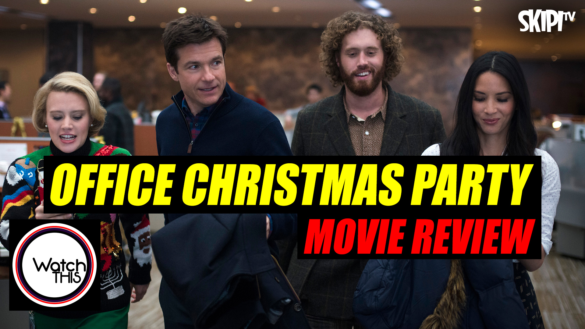 Office Christmas Party\' Review | SKIPI.TV