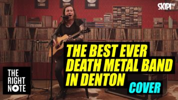 'The Best Ever Death Metal Band In Denton' Cover