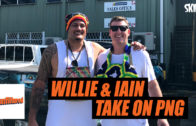 Willie Mason Visits PNG