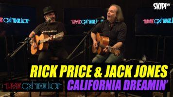 Rick Price & Jack Jones: 'California Dreamin' Cover